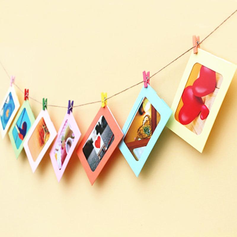 фоторамка на веревочке красивые фотографии праздниках