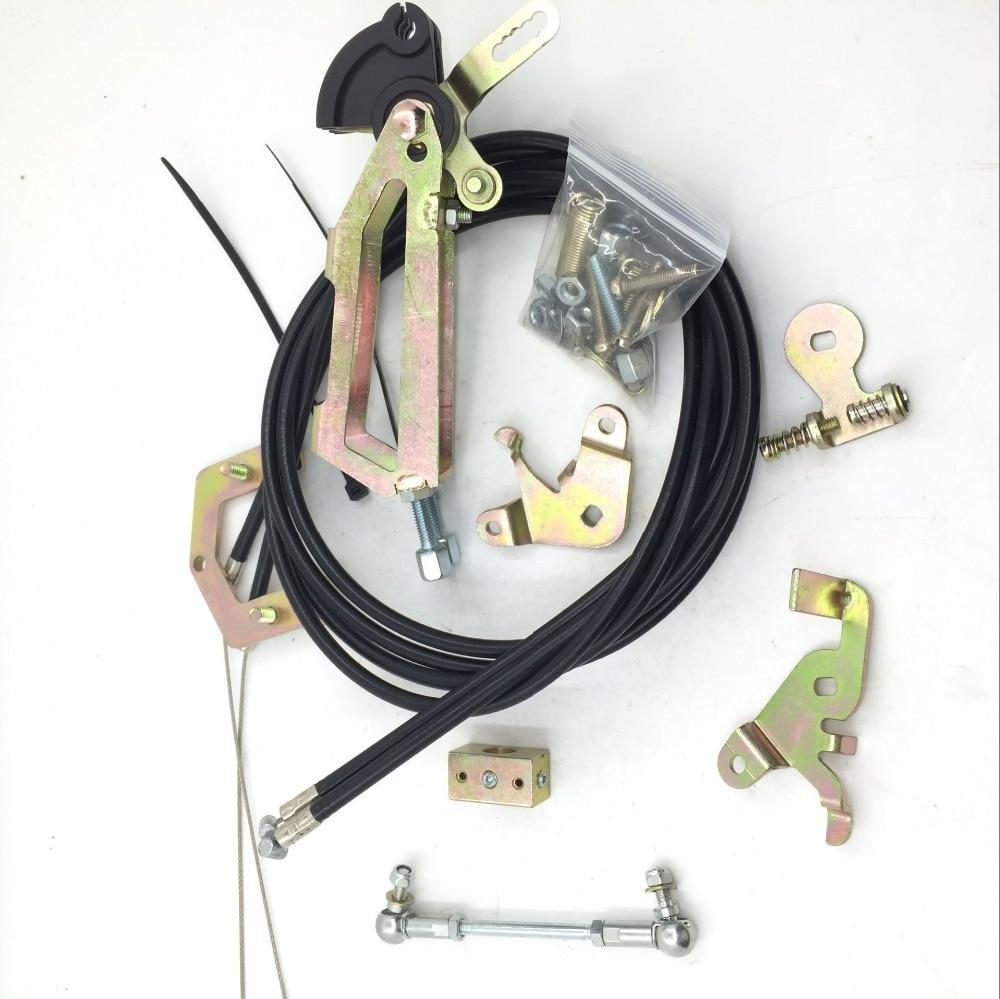SherryBerg Fajs Twin Cable Top Mounted Throttle Linkage Kit Fit WEBER DCOE Carb 40/45/48/55 Fajs Linkage Kit Set