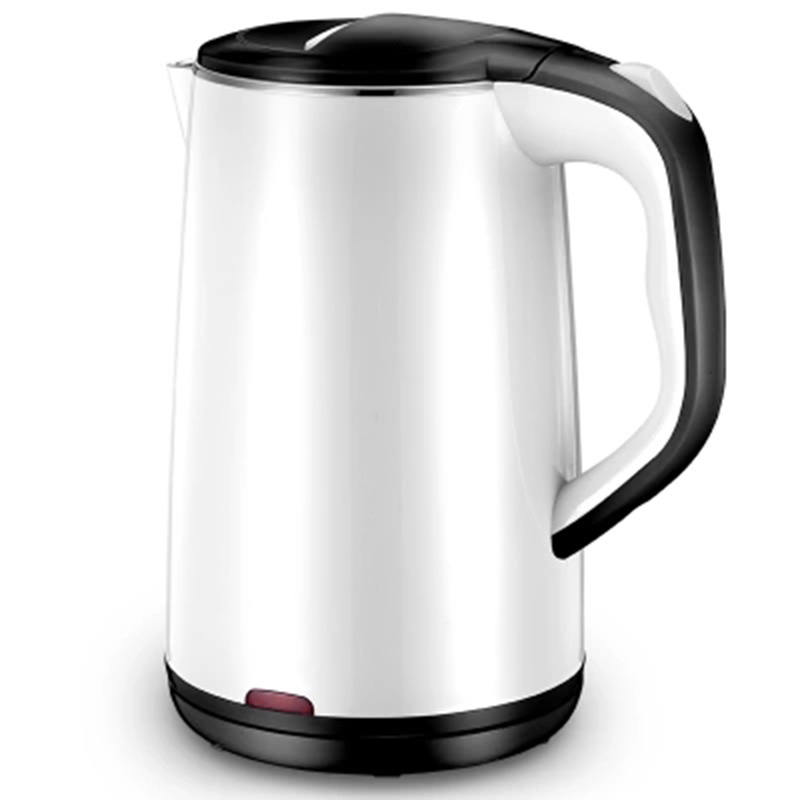 Electric kettle 304 stainless steel kettle 1.8L home anti-hot automatic power off