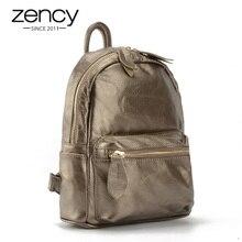 Новинка 2017 года Винтаж дизайнер 100% Пояса из натуральной кожи рюкзак Для женщин женские Mochila Известный бренд школьный Дамы Сумка для ноутбука карман