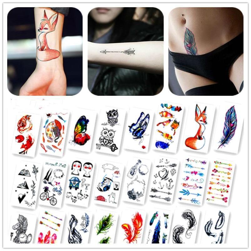 1 шт. Водонепроницаемый Временные татуировки Стикеры Tatto Стикеры s flash tatoo поддельные татуировки для человека Для женщин