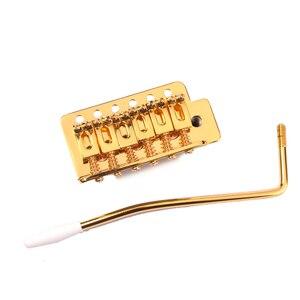 Image 5 - גיטרה טרמולו גשר מערכת סט ברגי מפשק כננת ברגים מעיינות ערכת החלפת לפנדר סטראטוקסטר גיטרות זהב