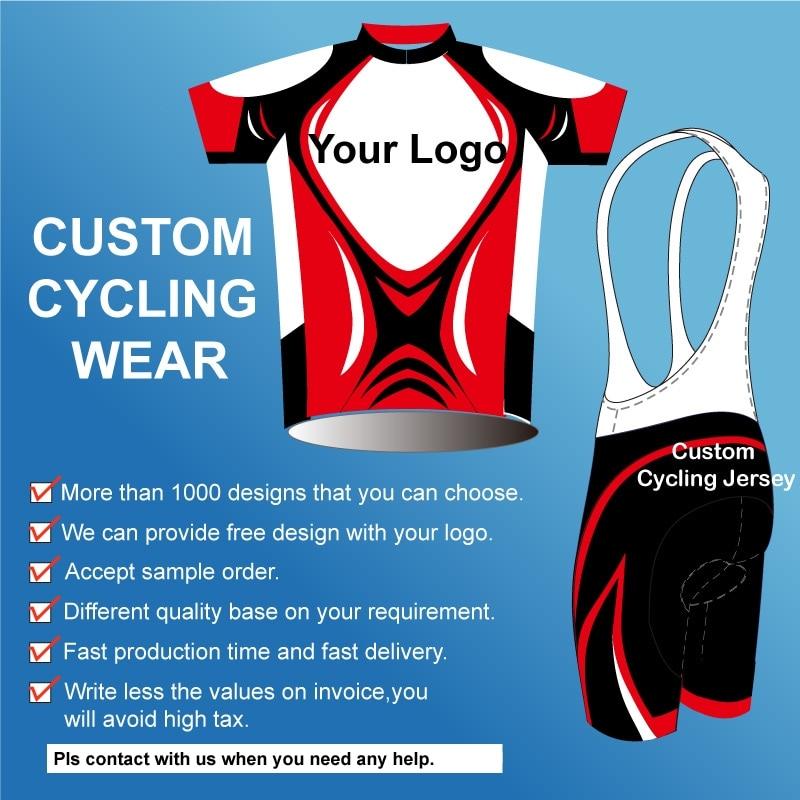 Custom made cheap cycling jersey/customized bike uniform/sportswear manufacturers oem service bicycle bib shorts with your logo