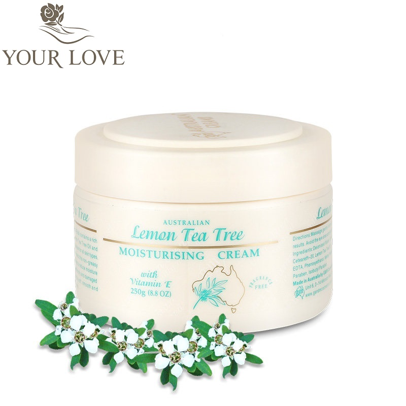 YourLove Australia Lemon Tea Tree Antiseptic Moisturizing VitaminE Cream Fight Dry Damaged Skin Athlete Foot Insect