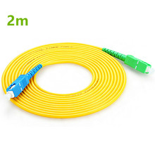 Buy 2m SC APC to SC UPC SC PC G657A Fiber Patch Cable, Jumper, Patch Cord Simplex 2.0mm optic patch cord directly from merchant!