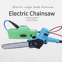 40V lithium mini electric chain saw machine one hand than 10 hours lasting 150mm