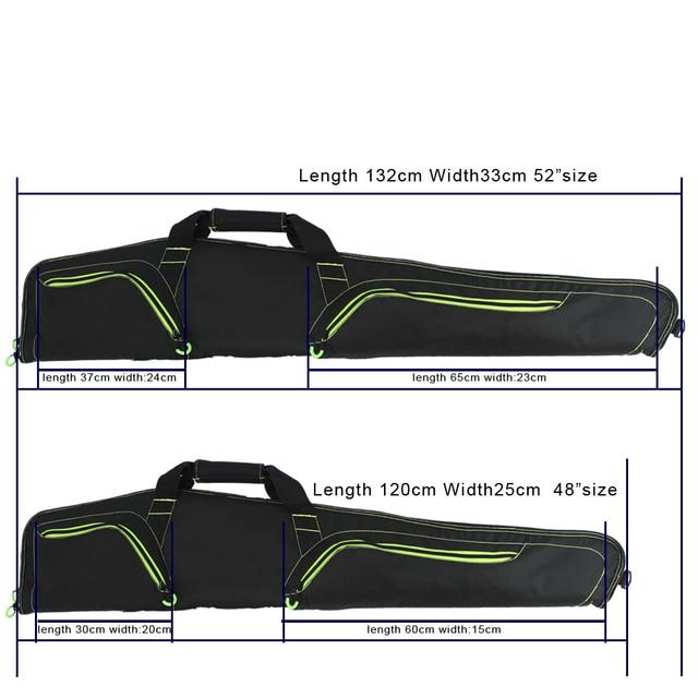 Rifle Black Soft Padded Gun Case Hunting Accessories pouch Tactical Scoped airsoft  Gun Bag Gun Storage holster 5