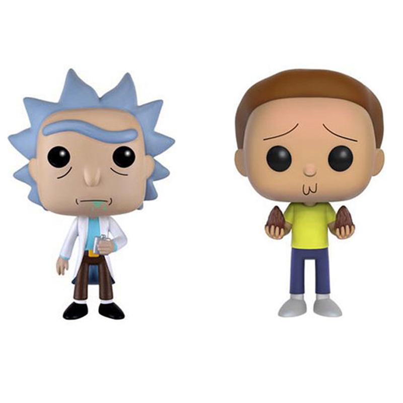 Elsadou Cartoon Rick and Morty Action Figures Mr Messeeks PVC Vinyl Collection Toy font b Doll