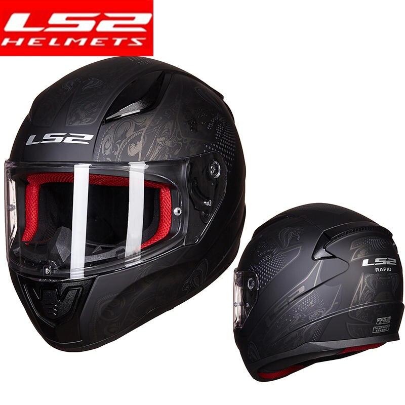 Us 84 55 5 Off Ls2 Ff353 Rapid Full Face Motorcycle Helmet Men Woman Capacete Ls2 Helmet Street Racing Helmet Casque Moto Capacete De In Helmets