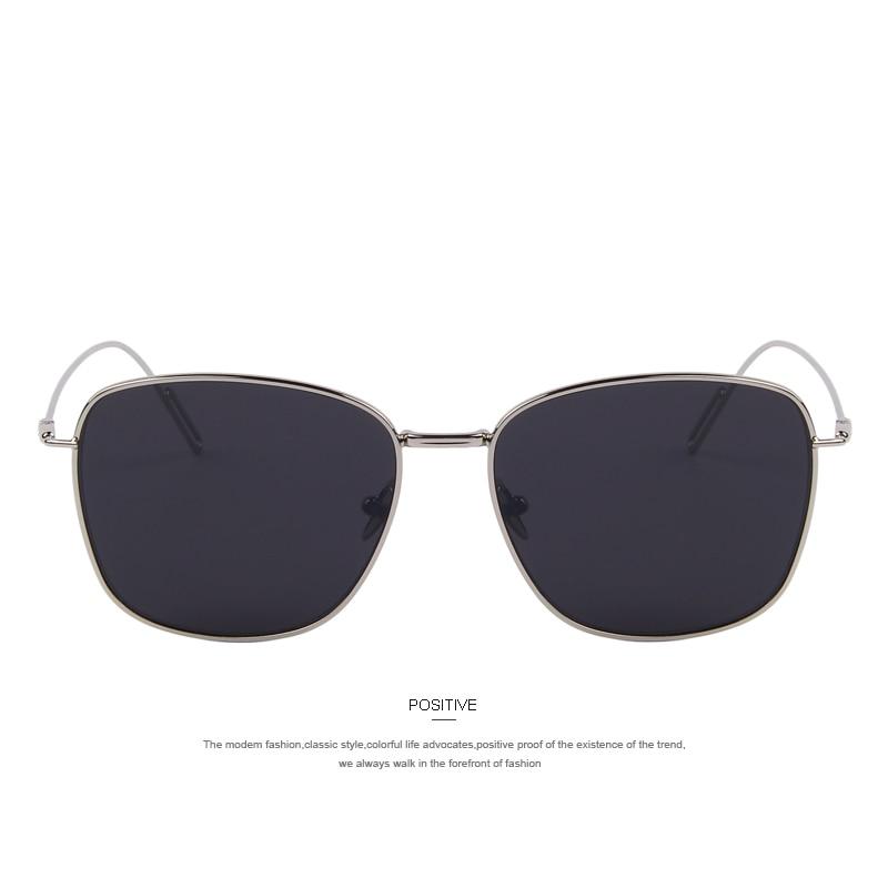 6965705e32 MERRY S Luxury Square Sunglasses Women Brand Designer Sunglasses Fashion  Men Metal Glasses European Unique Flat Coating Lens-in Sunglasses from  Apparel ...