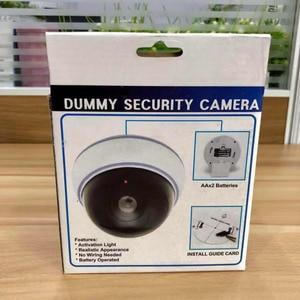 Image 5 - Домашняя камера видеонаблюдения Wsdcam, купольная мини камера видеонаблюдения с фальшивым манекеном, светодиодный светильник белого цвета