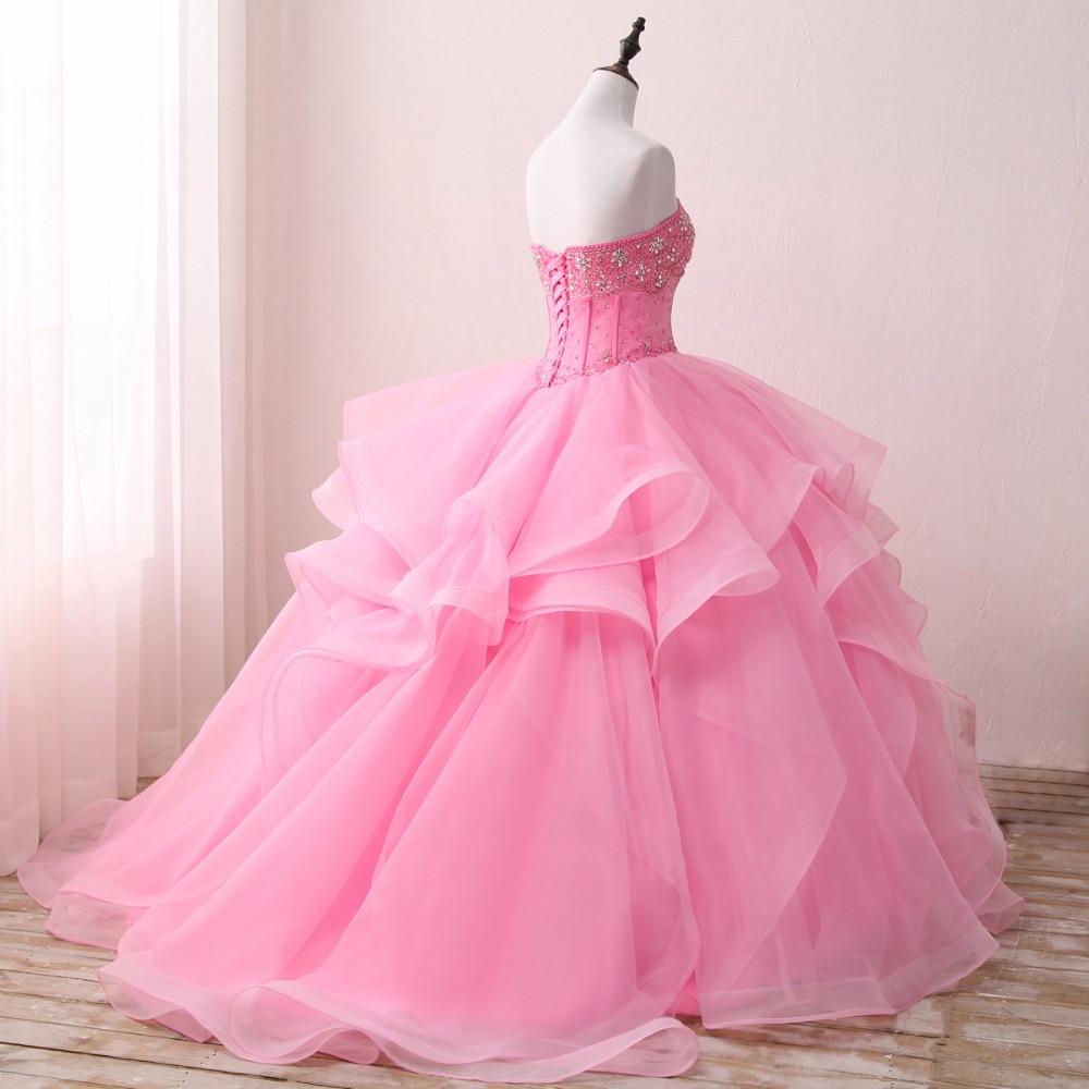 Lovskyline caliente elegante del amor vestido de novia 2018 Rosa ...