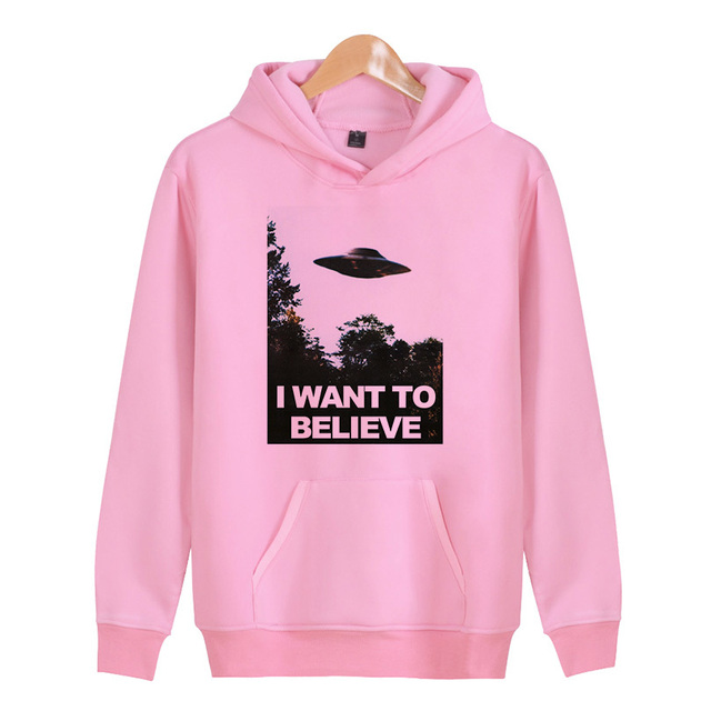 i want to believe Drop shipping 2018 New Mens 3D hoodies Anime Ahegao Print Casual Hoodies Men/Women Hooded Sweatshirt X4260