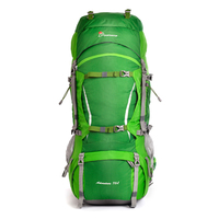 70L Climbing Bag Cologne Material Internal Frame Unisex Packs for Travel Hiking Outdoor Long Distance Camping Backpack