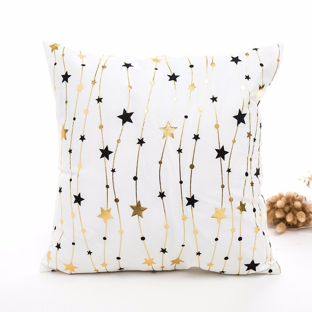 FENGRISE 45x45cm Cotton Linen Merry Christmas Cover Cushion Christmas Decor for Home Happy New Year Decor 2019 Navidad Xmas Gift 4
