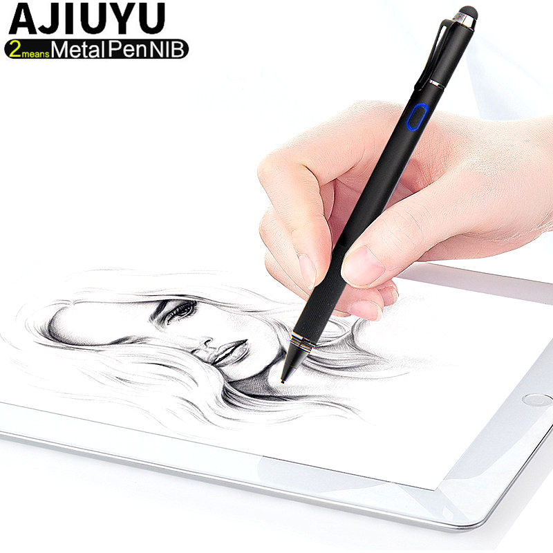 Active Pen High-precision 1.3mm Chargeable Capacitive Touch Stylus iOS Android Windows10 Tablet Mobile phone touch screen Pen