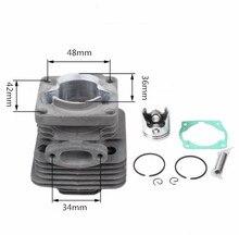 TL33/CG330 1E36F Pinsel cutter gras trimmer zylinder set durchmesser 36mm