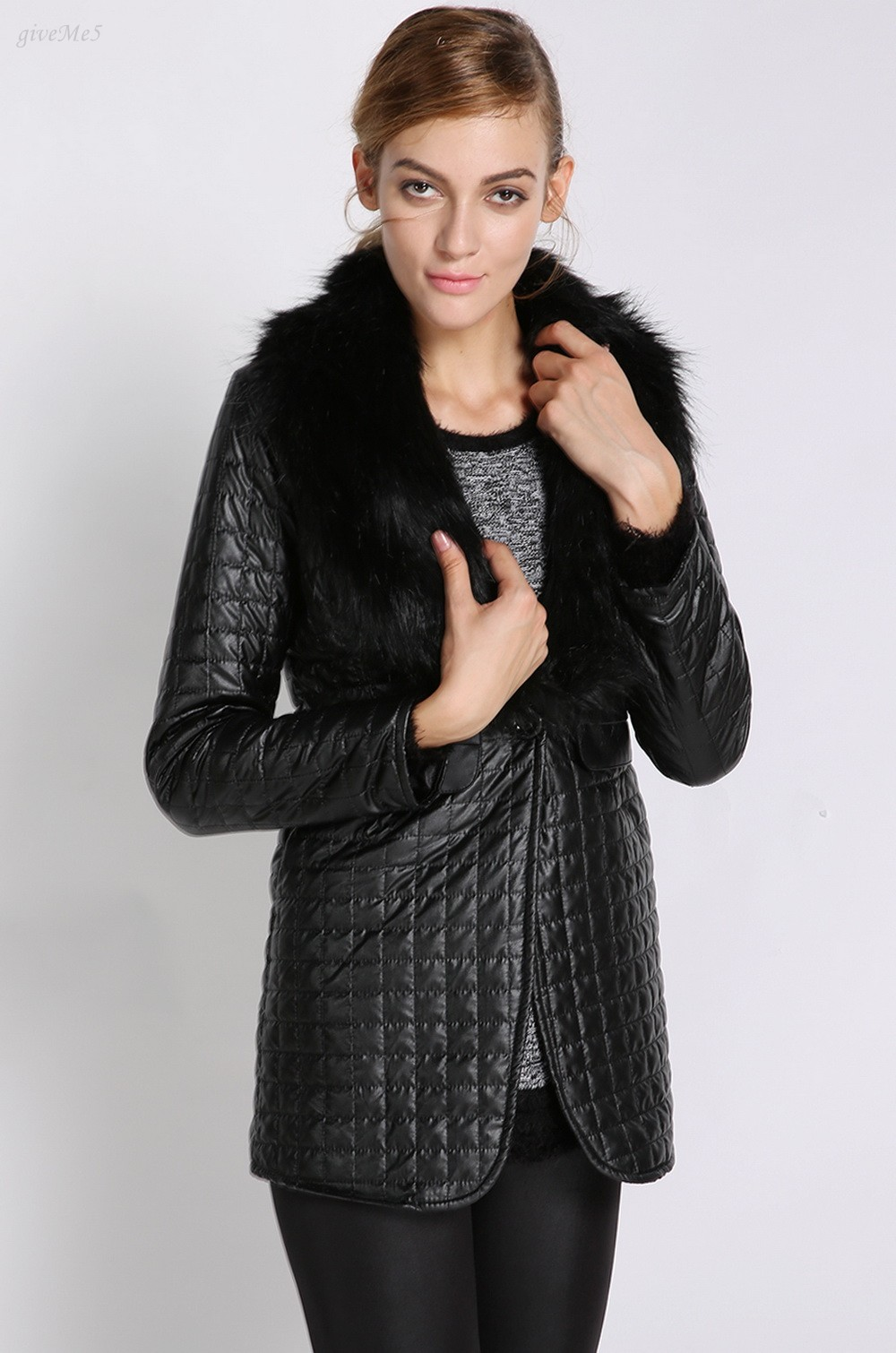 Popular Ladies Sheepskin Jacket-Buy Cheap Ladies Sheepskin Jacket ...