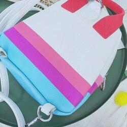LXFZQ nowy torba szkolna s torba szkolna s dla dziewczynek PU plecak szkolny torba szkolna plecak dla dzieci szkoła tornister torba dla dzieci 5
