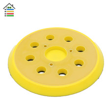5inch Sanding Disc Backing Plate for Woodwroking Sandpaper Hook and Loop Pad fit Air Sander Angle Grinder Grinding Power Tools(China)