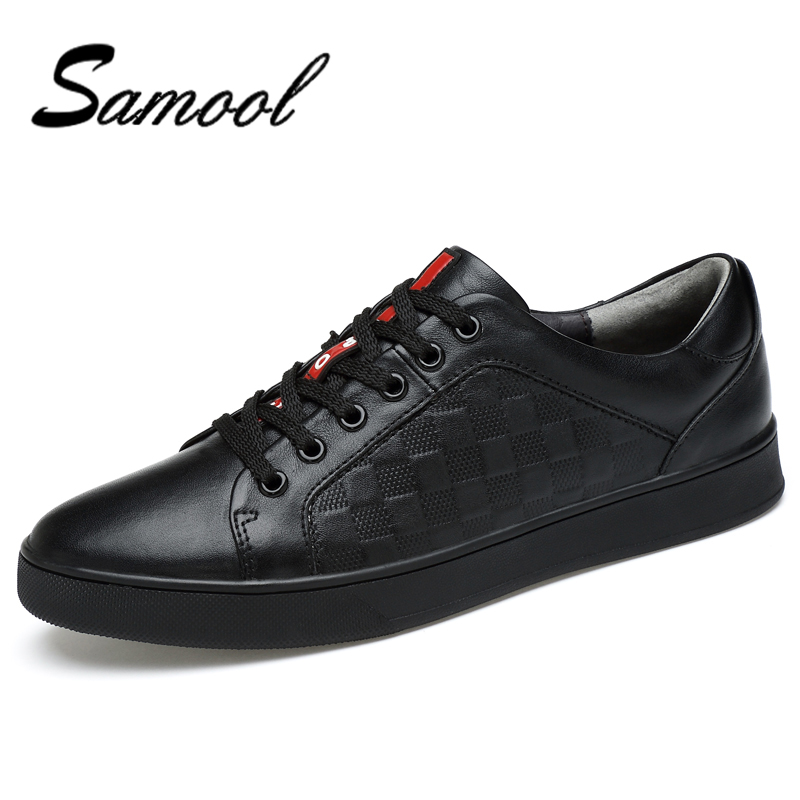 Samool Summer Causal Shoes Men Loafers Genuine Leather Moccasins Driving Shoes High Quality Flats For Man Big Size 37-45 Qx5