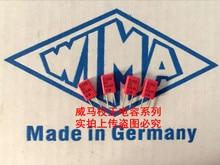 2019 hot sale 10pcs/20pcs German capacitor WIMA MKS2 63V 0.022uF 223 22n 63v P: 2.5mm Audio capacitor free shipping free shipping 10pcs at 223