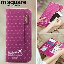 M Square Passport Cover Travel Wallet Document Passport Holder Organizer Cover on The Passport Women Business