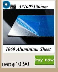5*100*150mm Placa de Alumínio Folha De Alumínio