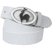 Logo коускин подлинные поясная пряжка пояса кожаный пояс открытом воздухе гольф