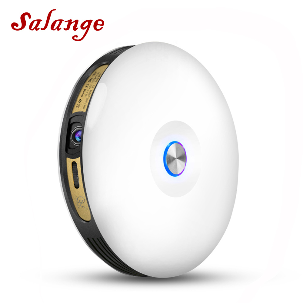 Salange T08 Overhead Projector Portable Android 3D Wifi Bluetooth DLP Full HD 1080P Home Theater 2G 32G Video Beamer Projetor aodin 32g mini projector dlp smart pico portable projector android led pocket projetor 1080p hd video wifi home theater hdmi in