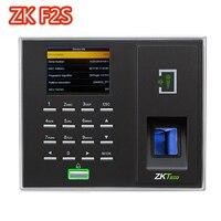 12000 емкость ZKTeco F2S BioID датчик доступа Управление Функция отпечатков пальцев посещаемости открывания двери с программным обеспечением
