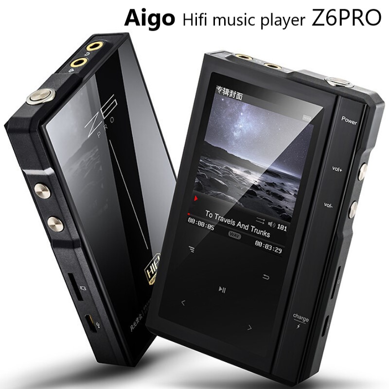 Moonlight AIGO Z6 PRO Mp3 Player Touchscreen Hifi DSD portable lossless music digital player Dual Core