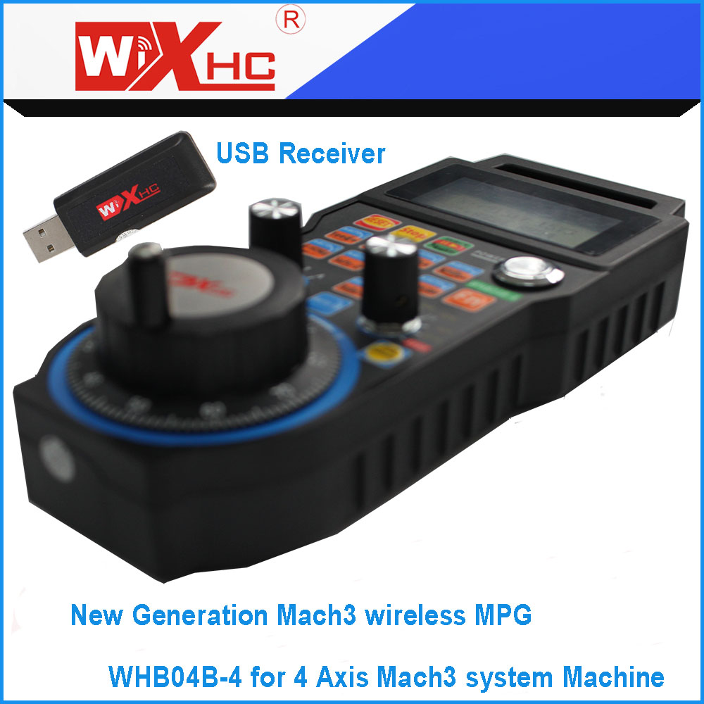 Xhc new generation 4 axis mach3 wireless mpg usb port cnc pendant xhc new generation 4 axis mach3 wireless mpg usb port cnc pendant for 4 axis cnc engraving machine in handwheel from tools on aliexpress alibaba group aloadofball Images