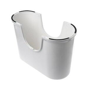 Image 3 - プラスチックノンスリップ浴室トイレ援助 squatty ステップ足スツールトイレ防ぐ便秘高速腸運動