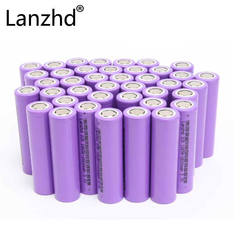 Image 2 - 24pcs 18650 Battery 3.7v Li ion rechargeable Batteries 26F Battery of 18650 for Laptop Toy Battery Electric and drill electronic-in Rechargeable Batteries from Consumer Electronics