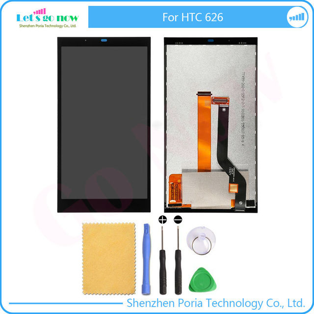 New Assembly For HTC Desire 626 LCD display screen with Touch Screen Digitizer Full Set With Free Tools