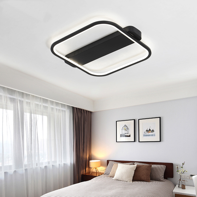 Modern Square LED Ceiling Light Minimalism Slim Ceiling Wall Mounted ...
