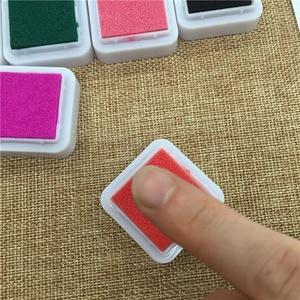 Image 5 - 24 Colors Cute Inkpad Cartoon Stamp Craft Oil Based DIY Ink Pads for Rubber Stamps Scrapbook Decor Fingerprint Kids Toy