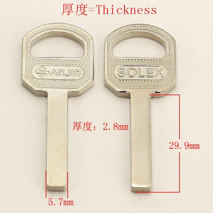 YP501 домашние заготовки ключей для двери слесарные принадлежности пустые ключи 10 шт./лот Слесарные принадлежности      АлиЭкспресс