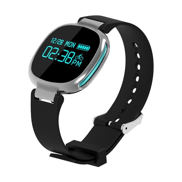 E08 Smart Wristband with Heart Rate Monitor Smart Bracelet Fitness Tracker Waterproof IP67 Smartband PK Xiaomi Mi Band 2  ZNSH02