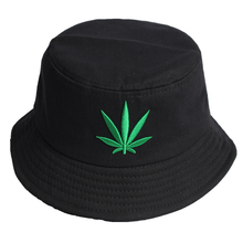 2fbe3782205 Weed Summer Cap Leaf Bucket Hat for Men Hip Hop Fisherman Panama Hats  Outdoor Summer Casual. 2 Colors Available