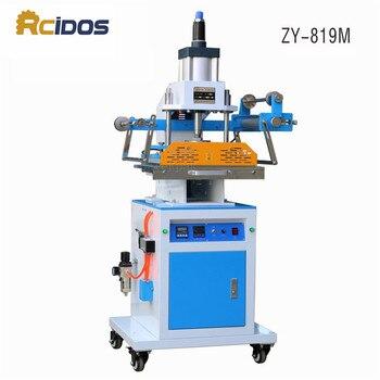ZY-819M Pneumatic Stamping Machine,leather LOGO Creasing machine,RCIDOS LOGO stampler,name card stamping machine