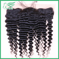 Grade 7A Deep Wave 13*4 Ear To Ear Lace Frontal Closure Bleached Knots Middel/Free/3 Part BrazIlian Human Hair Lace Closure
