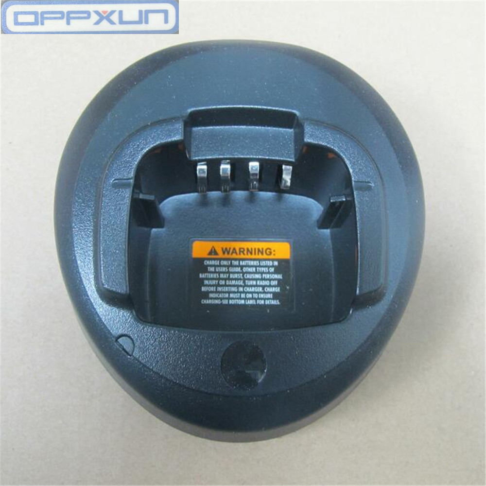 Oppxun Battery Charger 110-220v For Motorola Cp185 Ep350 Cp477 Cp1300 Cp1600 Cp1660 P140 P145 P160 Radios Beautiful In Colour