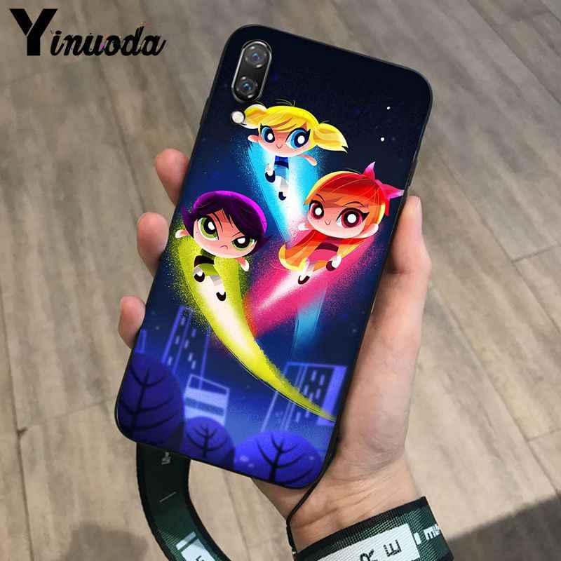 Yinuoda điện phồng bé gái Khách Hàng Chất Lượng Cao Ốp Lưng điện thoại Huawei P20 Por P10 Plus P9 Giao Phối 10 Lite di động Trường Hợp