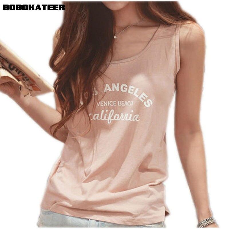 BOBOKATEER cotton t shirt women tshirt 2018 summer off the shoulder tops for women tee shirt femme kawaii letter t-shirts blusa