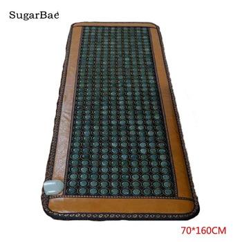 Массажный матрас с нефритовыми камнями, матрац с нефритовыми камнями, массажер для ухода за здоровьем, 0,7x1,6m, производство Китай