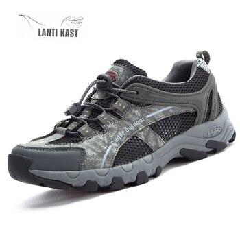 Hiking Shoes Men Mesh Mountain Climbing Tactical Shoes Outdoor Mesh Trekking Sports Sneakers Men Hunting zapatillas hombre