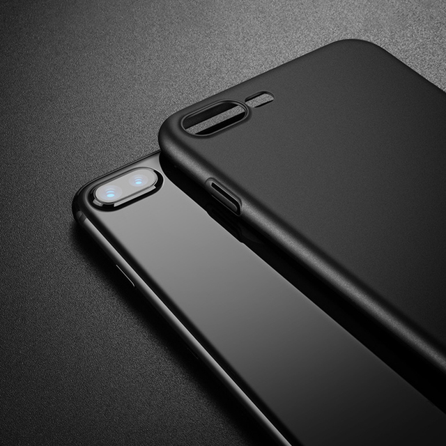 Hard Ultra-Thin Smooth Plastic Case for iPhone 7 7 Plus 8 8 Plus X 6 6 Plus 6s 6s Plus (PC iPhone Case) by Baseus 6