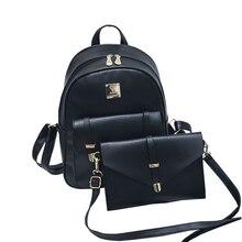В консервативном стиле высокое качество разработан бренд темперамент рюкзак женщины рюкзак кожаный мешок школы женский мешок рюкзак